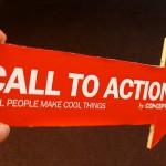 La call to action per stimolare l'acquisto nel commercio elettronico