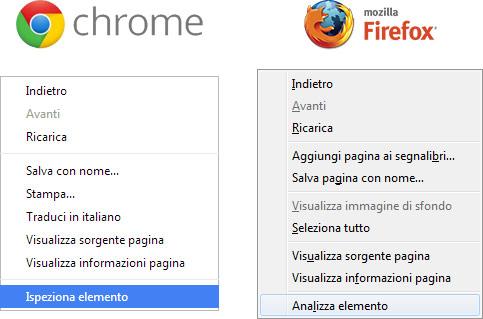 Seleziona Amici Facebook Chrome e Firefox