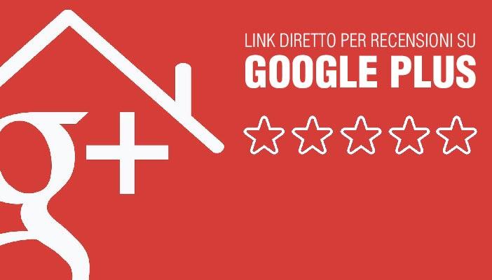 Link diretto recensioni Google plus