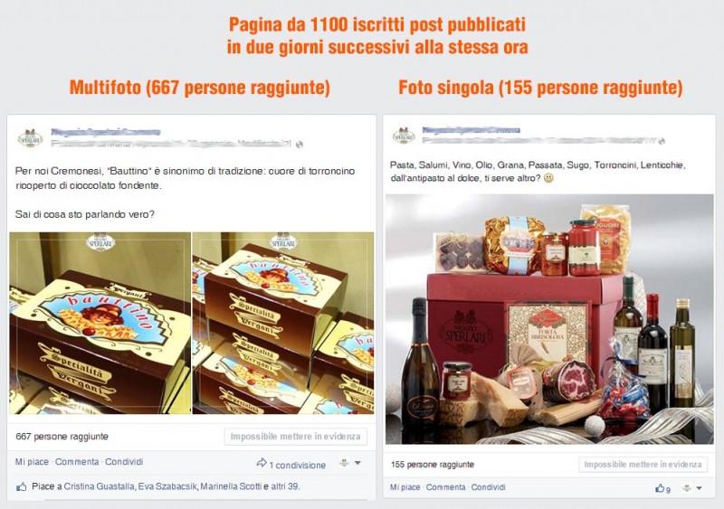 Aumenta la visibilità dei post su Facebook con il MultiFoto