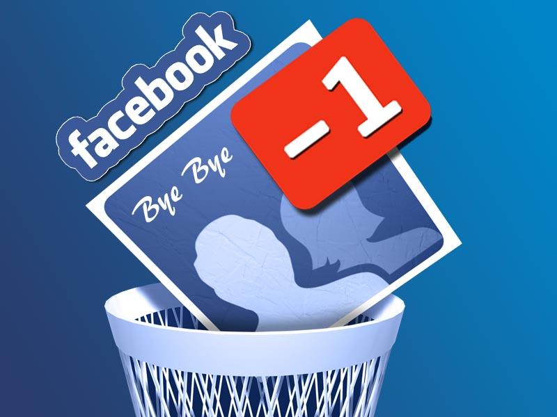 cancellarsi da facebook