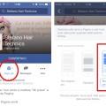visibilità pagina facebook mobile